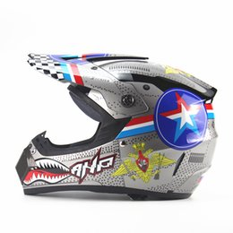 Wholesale Helmet Dh - Wholesale- Motorcycle Adult BIKE BICYCLE motocross Off Road Helmet ATV Dirt bike Downhill MTB DH racing helmet cross Helmet capacetes
