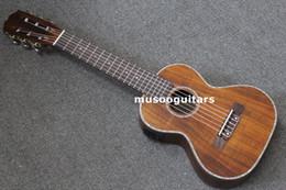 """Wholesale Acoustic Ukulele - 27"""" Concert Mini Acoustic Ukulele Guitar with EQ Handcraft Solid Acacia Wood"""