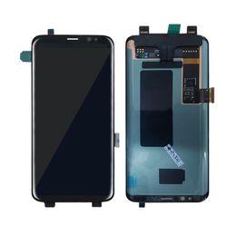 Pour Samsung Galaxy S8 bord plus lcd G955 G955F G955A G955FD G955P G955S S9 bord plus écran tactile écran LCD Digitizer or livraison gratuite ? partir de fabricateur