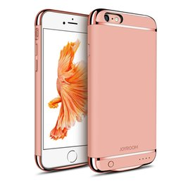 Wholesale Iphone Battery Case Charger - JOYROOM Power Case External Backup Battery Charger Case Cover Phone Accessories For iphone 6\6S 6plus \ 6S plus