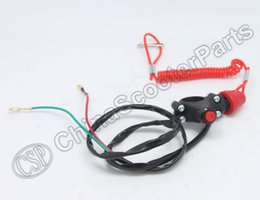 Wholesale Quad Switch - Wholesale- 7 8 inch Motorcycle ATV Quad Engine Emergency Kill Switch