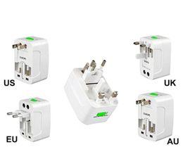 Wholesale Wholesale Worldwide - Travel Plug Adapters All in 1 Travel Worldwide Universal US UK AU EU Electrical Power Plug Adapter