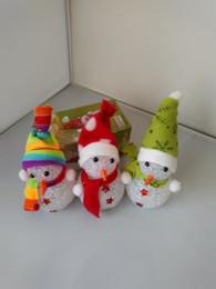 2019 lampada di cristallo dentellare Offerta speciale nuove particelle luce colorata lampada di cristallo cappello Pupazzo di neve artigianato di Natale lampada di cristallo Pupazzo di neve notturna sconti lampada di cristallo dentellare