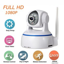 Wholesale Night Vision Ptz Camera - Full HD 1080P Wireless PTZ IP Camera Wifi CMOS Night Vision H264 PTZ IR Security Camera Motion Detection Home Security Onvif