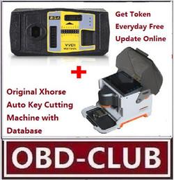 Wholesale Bga Machine - Promotion iKeycutter CONDOR XC-MINI Master Automatic Key Cutting Machine XC007 + V2.1.7 VVDI MB BGA Tool Get Token Everyday