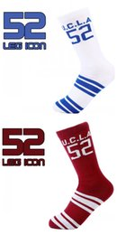Wholesale Red Box Tube - No. 52 Digital Sock Sports Socks Stocking Tall Tube Tide Stocking Non Slip Wearable Breathable Cotton Men And Women 6 5rz