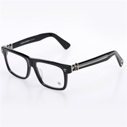Wholesale metal lunch boxes - Brand-2017 Chrome Box lunch-a Oculos De Grau myopia Eyeglasses Myopia Frame Men Eye Glasses Women Glasses Japan Brand Optical Frame