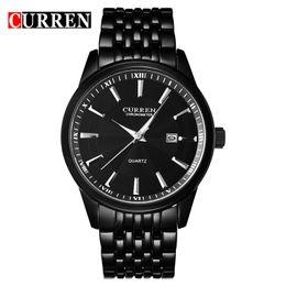Wholesale Luxury Men Quartz Watch Curren - CURREN Watches Men Luxury Brand Business Casual Watch Quartz Watches relogio masculino8052