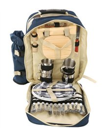 Wholesale Resistance Suits - Wholesale- Camping cookware package,GaiaBBQ-A36,Outdoor shoulders package,Picnic outing camping cutlery set,Outing picnic package suits