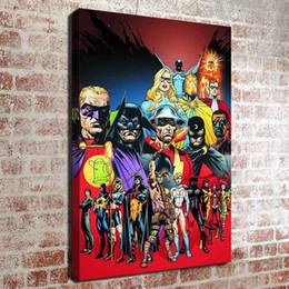 Canada (Pas de cadre) DC super-héros HD impression sur toile Mur Art Peinture à l'huile Photos Home Decor Chambre salon cuisine Décoration Offre