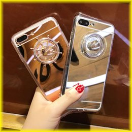 Wholesale Fingertips Iphone - For iPhone7 iPhone 6s Creative Fingertips Gyro Mirror Phone Case Wrestling All-inclusive Protective Sleeve Couple Models DHL Free Shipping