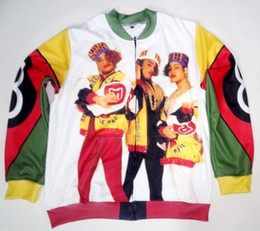 Wholesale Men S Jacket 4xl - 2 Colors Real USA Size Salt N Pepa 8 Ball 3D Sublimation Print custom made zipper up Jacket plus size