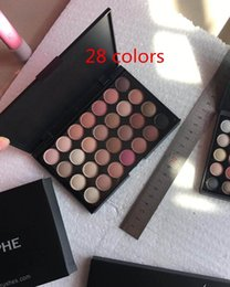 Wholesale 28 Color Eyeshadow Palette Wholesale - 28 40 Color Eyeshadow Palette 28 color 40 color Earth Colors Shimmer Glitter Earth Eye Shadow Power Set Cosmetic Makeup