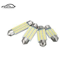 1 Unids C3W LED 31/36/39 / 41mm 3014 Interior del Coche Techo de Iluminación Luces de Lectura Lámpara de Matrícula de Luz Domo 12 V desde fabricantes
