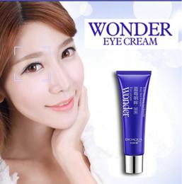Wholesale Smooth Line - 300pcs Bioaqua Wonder Eye Cream Nourishing Dark Circle Remover Eye Maske Smooth Fine Lines Moist Shrink Pores Eye Skin Care