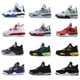 Wholesale air retro men basketball shoes Motorsport Alternate Military blue Angry Bull Black Suede Pure Money oreo White Cement sport sneakers