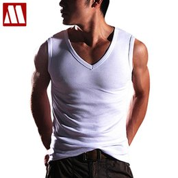 Wholesale Shaper Mens Undershirt - Wholesale- 2017 New High Quality fashion Mens Clothing Robust Body Slimming Undershirt Shaper Vest Muscle Tank Tops, Free Shipping MTS423
