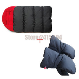 Wholesale Wheelchair Cover - Stroller accessories envelop wheelchair baby pram sleeping sacks foot cover gloves for baby carriage hand cover warm handmuff