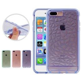 Wholesale Apple Green Handbag - GEM Transparent Clear Shockproof Dustproof Soft TPU Case Cover For iphone X 8 7 6s 6 plus Opp Bag