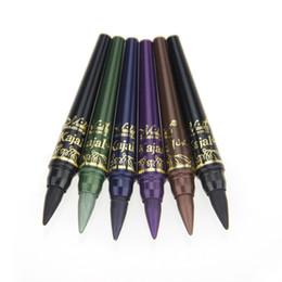Wholesale Crayon Eye Liner - Wholesale-Professional Brand Makeup M.n Eye Shadow Pencil Set 6 Colors Waterproof Eyeliner Pencil Make Up Eye Liner Crayon Cosmetics Pen