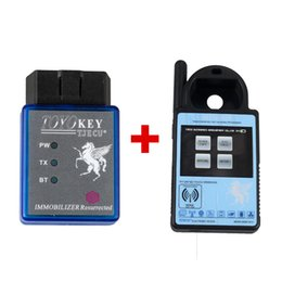 Wholesale Transponder Key Chip For Honda - 2017new good Mini ND900 Transponder Programmer Plus Toyo Key OBD II Key Pro Support 4C 4D 46 G H C Chips 2.Support Toyota G Chip All Key