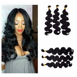 Wholesale Body Wave Hair For Braiding - Top Grade Body Wave Human Hair Bulk For Braiding Peruvian Hair Bulk 3Bundles No Shedding G-EASY