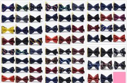 Wholesale Wholesale Men Womens Accessories - New 56Color bow tie for Men Wedding Party black red purple bowties Women Neckwear Kids Boy Bow Ties mens womens fashion accessories