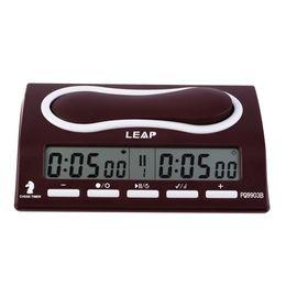 Wholesale Portable Chess - Wholesale-Plastic Digital DC3V Chess Clock Portable Chess Alarm Timer For Tournament Chess Game 0.3-QZ001R PQ9903