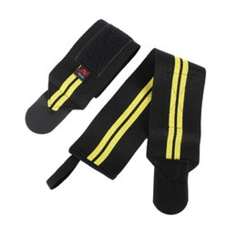Wholesale Thumb Wrist - Wholesale- Aolikes 1Pair Wrist Thumb Brace Support Gym Weight Lifting Strap Wrap Wristband
