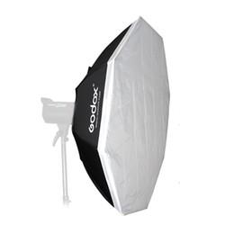 Wholesale Octagon Umbrella Softbox - Wholesale-GODOX 120cm Octagon Flash Light Soft Box   Umbrella Softbox Browens mount