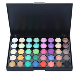 Wholesale Compact Girls - Fashion colorful eyeshadow Pearl Shimmer Studio Special Eye Shadow Compact Palettes for Women Girls Makeup Tools DHL free shipping