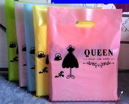 bolsa de regalo reina Rebajas 100 piezas pequeñas bolsas de bolsas de regalo de embalaje de plástico, bolsas de embalaje promocionales de moda bolsos, QUEEN lady girls shopping jewelry bag mix lot