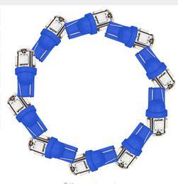 Wholesale Yellow Xenon - 100PCS T10 5SMD 5050 Xenon LED Light bulbs W5W 194 168 LED White Car Side Wedge Tail Light Lamp wholesale price
