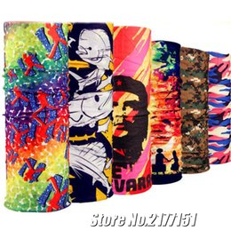 Wholesale Wholesale Bandanas Sports - Magic Bandanas Outdoor Variety Riding Sports Seamless Scarf Hiphop Hijab Bandanas Magic Headband Neck Tube wholesale 77