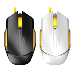 Wholesale Lenovo Notebook Laptops - James Donkey 112 USB Wired Optical Mouse Gaming Mice with Retail Box for Mac Computer Laptop Notebook Gamer CS OTG LOL Lenovo Free Shipping