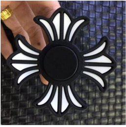 Wholesale Iron Man Plastic - Newest fidget Spinner Round elf ball flowers hand Spinner Captain America iron men spider man fidget spinner