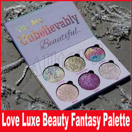 Wholesale Loving Beauty - Love Luxe Beauty Fantasy Palette Makeup You Are Unbelievably Beautiful highlighters Eyeshadow 6 Colors Eye Shadow
