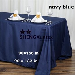 Wholesale white table cloths wholesale - 100% Polyester Rectangular Table Cloth \ Wedding Tablecloth Free Shipping