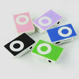 Wholesale Mini Clip Mp3 Player Memory - Wholesale- HOT 2016 New Colorful Mini Clip MP3 Player Support 1-8GB Micro SD TF Memory Card no accessories