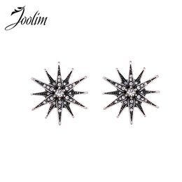 Wholesale Tin Stars Cheap - Wholesale Jewelry Fashion Cheap Antique Star Earring Vintage Earring Fashion Jewelry Gift Free Shipping