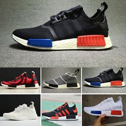 Wholesale Buttons Clear - 2017 NEW HOT Cheap Wholesale Hot NMD R1 Primeknit PK Perfect Authentic Running Sneakers Fashion casual Shoes NMD Runner Primeknit Sneakers
