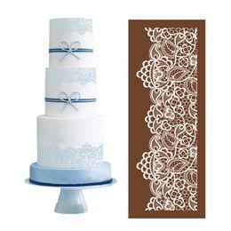 Wholesale Diy Cake - Fabric Flower Vine Mesh Stencil of Wedding Decorations DIY Cake Mold 05