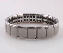 Wholesale Energy Magnetic Titanium Germanium Bracelet - hot selling New arrival 10pcs Energy bracelet Titanium, Nano Energy Magnetic Germanium Titanium Bracelet Pain Relief Powerfull!