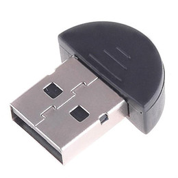 Wholesale Bluetooth Ecu - Bluetooth 2.0 USB 2.0 Dongle Adapter Wireless Mini V2.0 EDR Bluetooth Receiver For PC Laptop Headset Raspberry Pi