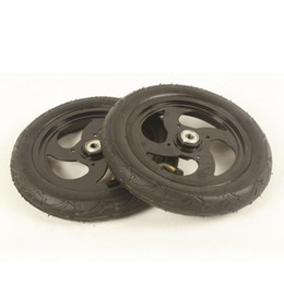 Wholesale inflatable wheels - Wholesale- free shipping scooter wheel inflatable wheel diameter 200 mm 2 pcs lot