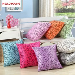Wholesale Throw Pillow Covers Ivory - BZ023 Luxury Cushion Cover Pillow Case Home Textiles supplies Lumbar Pillow love shaped decorative throw pillows chair seat