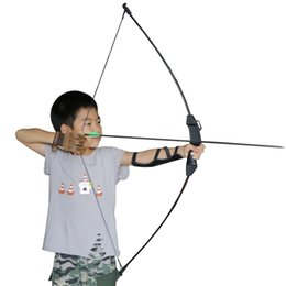 """Wholesale Outdoor Sports Games For Kids - Outdoor Sports Toy Archery Takedown Bow 45"""" 15LBS for Children Kids Youth Hunting Target Practice Outdoor Game"""