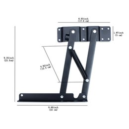 Wholesale Bottoms Diy - Lift up Coffee Table DIY Hardware Fitting Furniture Mechanism Hinge Spring Top Mount or Bottom Support