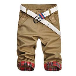 Wholesale Beach Boardshorts - Wholesale- New Summer Style Straight Boardshorts Beach Men Casual Slim Fit Shorts Men Denim Short Shorts