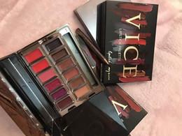 paleta brillo de labios Rebajas Nueva Hot NU Blackmail Vice Lipstick Palette 12 colores Brillo de labios Maquillaje de labios de larga duración Edición limitada de DHL Envío + regalo